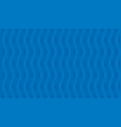 abstract blue wavy pattern vector image