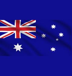 australian flag australia national identity vector image