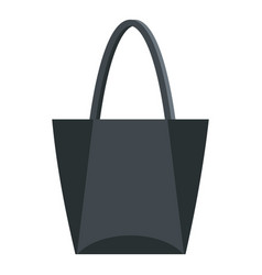 Big bag icon isolated vector