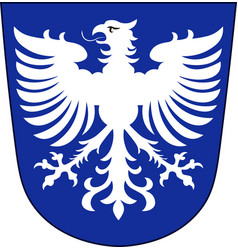 Coat of arms of schweinfurt in lower franconia in vector