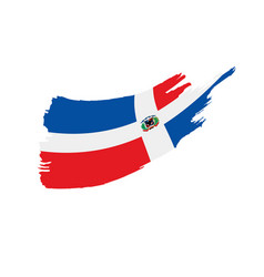 Dominicana flag vector