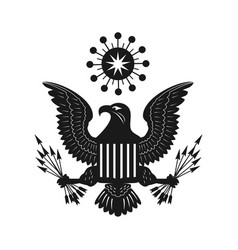 eagle bird concept logo vector image