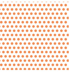 orange spotted seamless pattern design vector image