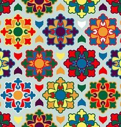 Pattern ramadan seamless arabic Islamic asia vector image