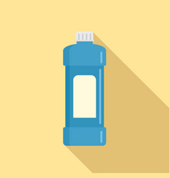whiteness bottle icon flat style vector image