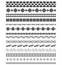 oriental frame vector image