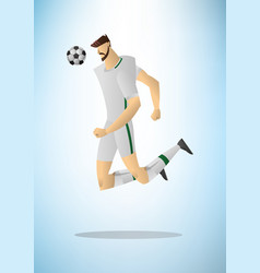 football player 02 vector image vector image