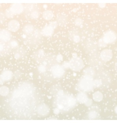 Christmas snowflakes background blue light vector image