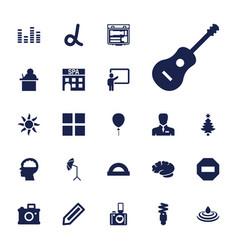 22 creative icons vector
