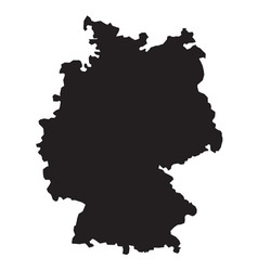 Germany map2 resize vector image