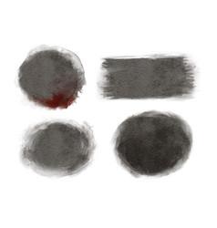 halloween watercolor background texture circle vector image