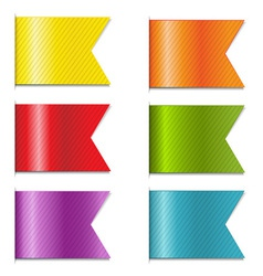 Ribbon Markers vector image
