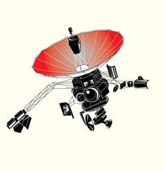 Satellite design amp image vector