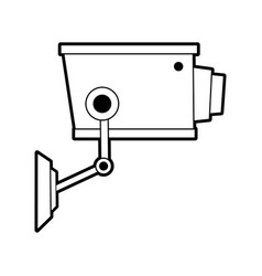 Sketch silhouette image infrared surveillance vector
