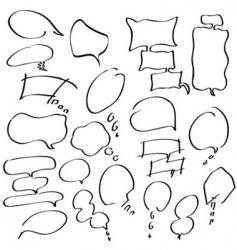 bubble set vector image