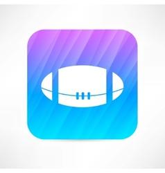 American ball icon vector image vector image