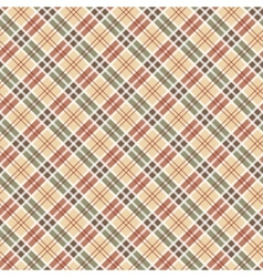 Scottish checked ornament seamless pattern vector image