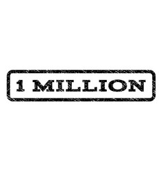 1 million watermark stamp vector image