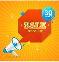 Big Sale Label vector image