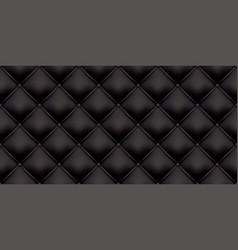Black leather upholstery pattern texture vector