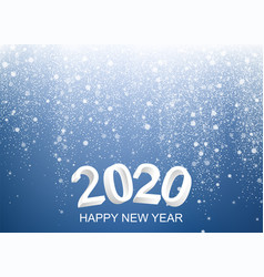 happy new 2020 year background vector image