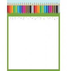 Pencil poster vector
