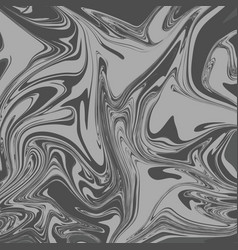 smoke grey liquid marble background vector image