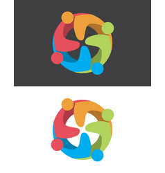 Togetherness logo vector