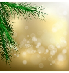 christmas tree5 vector image