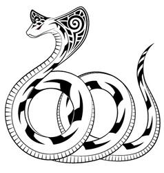 Snake Cobra vector image vector image