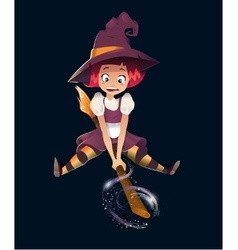 A Halloween Witch vector