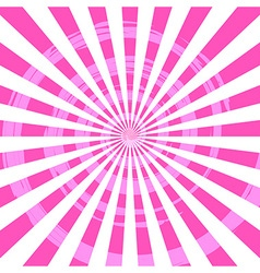 Abstract Burst Ray Background Pink vector image