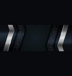 Abstract dark navy background combined vector