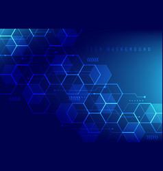 Abstract hi-tech digital technology geometric vector