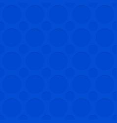 Blue seamless cutout circle pattern texture vector