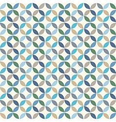 Geometric Circle Pattern Background vector