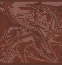 gingerbread liquid marble background vector image