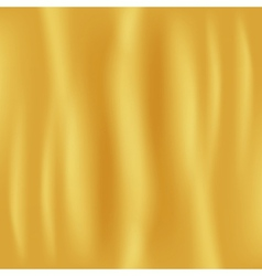 Golden Fabric Background vector image