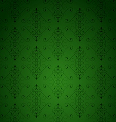 Green little background vector image