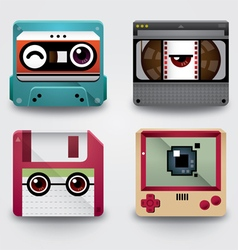 Icon 90s gadget vector