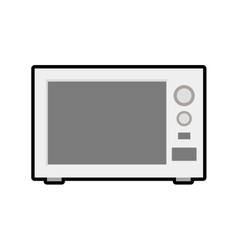 Microwave house technology appliance icon vector