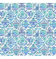 Seamless pattern with hand drawn color vector