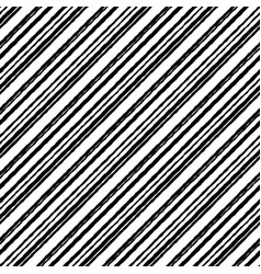 striped pattern white rough grunge seamless black vector image