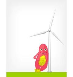 Windmill Concept vector