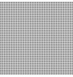Black white mosaic background vector image