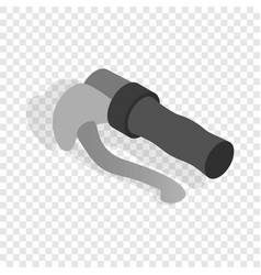 bicycle brake isometric icon vector image