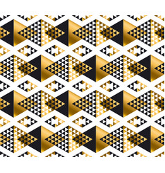 modern geometry american indian tribal seamless vector image vector image