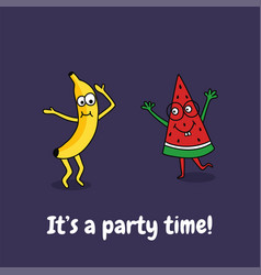 party time vector image