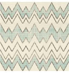 Textured large zig zag pattern vector image