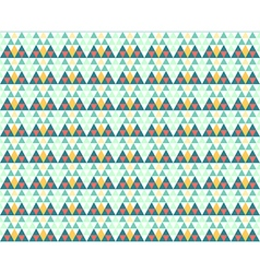Triangles seamless pattern winter background vector image vector image